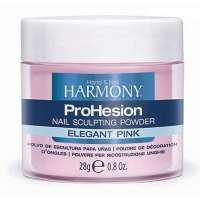 Harmony ProHesion Elegant Pink Powder, 28 g - прозрачно-розовая акриловая пудра, 28 г