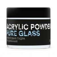 InGarden, Акриловая пудра прозрачная Pure Glass Power, 20 гр.