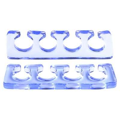 Irisk, Расширитель для пальцев силиконовый, 2 шт. прозрачно-голубой.