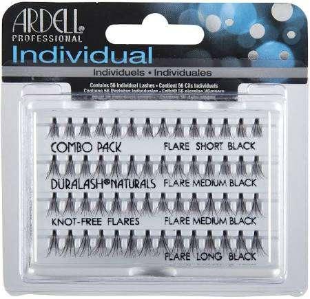 Ardell, пучки безузелковые, mix 56 шт/уп.