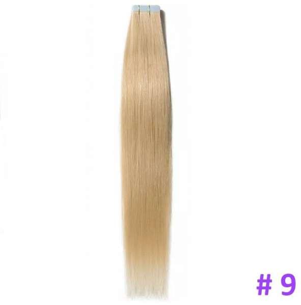 Волосы на лентах, Тон 9, 70 см, 20 лент