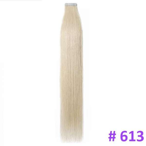 Волосы на лентах, Тон 613, 50 см, 20 лент