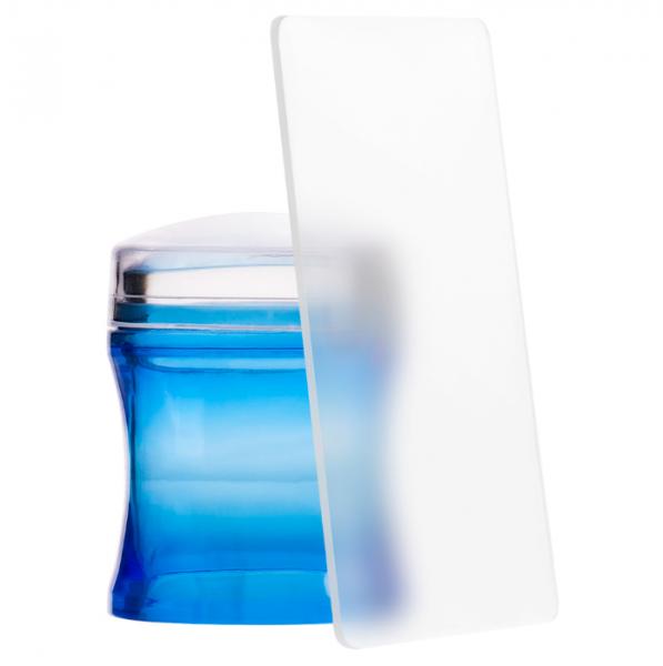 IRISK Печать-стик для стемпинга, синяя