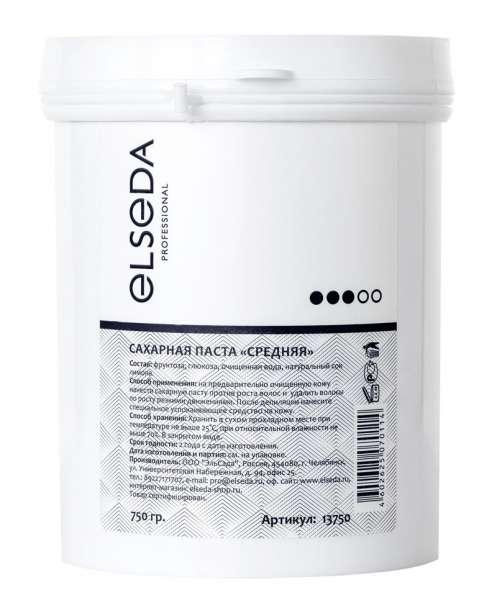 Elseda, Сахарная паста для шугаринга - средняя, 1600 г.