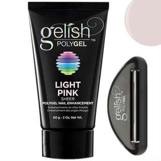 Gelish PolyGel Light Pink, 60g - светло-розовый полигель