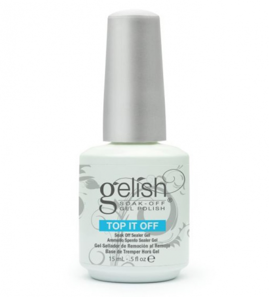 Gelish, Топ для гель-лака, Top-it-OFF, 15 мл.