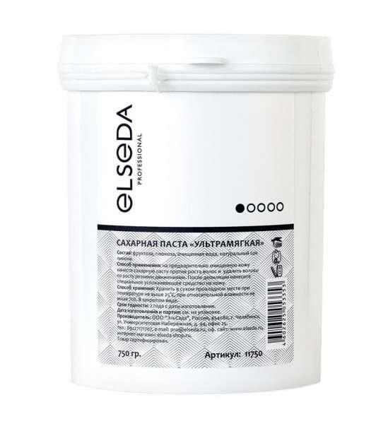 Elseda, Сахарная паста для шугаринга - ультрамягкая, 750 г.