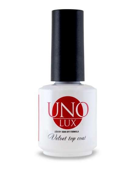 Верхнее покрытие с бархатным эффектом Uno Lux Velvet Top Coat