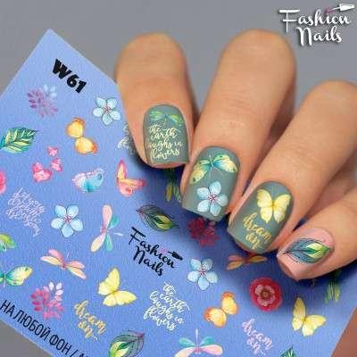 Fashion Nails, слайдер-дизайн, W61