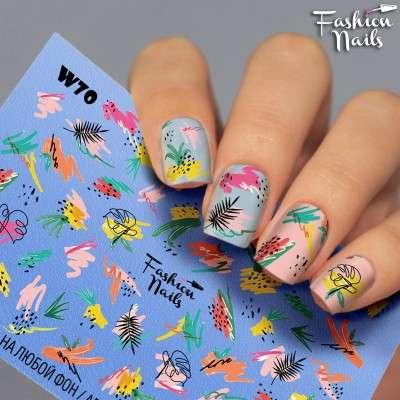 Fashion Nails, слайдер-дизайн, W70