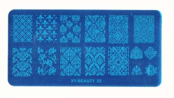Stamping Пластина XY-BEAUTY-22