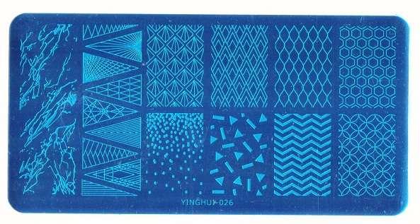 Stamping Пластина YINGHUI-026