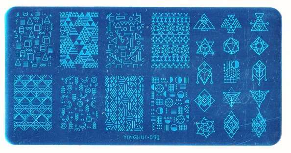 Stamping Пластина YINGHUI-050