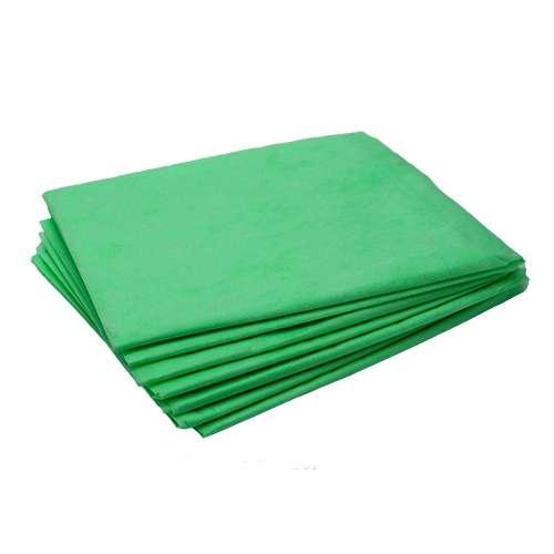 White Line Простыня одноразовая,  70*200, SMS 17, Зеленая 10шт/уп.