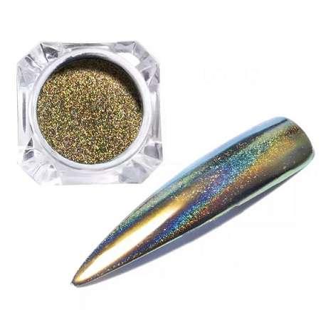 Втирка Prisma Platinum № 1, цвет золота